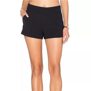 ANTHROPOLOGIE PARKER ALDEN BLACK SHORTS